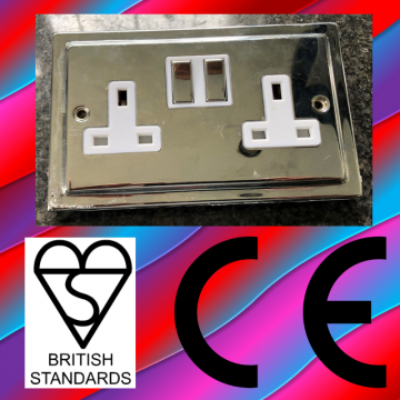 Cheap sockets without CE marks can be dangerous