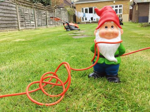 Electrical Safety in the Garden