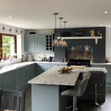 Kitchen Lighting and Electrics in Old Farm Park