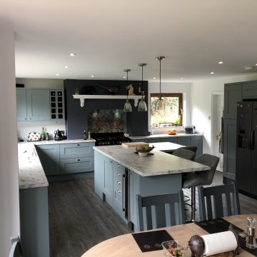 Kitchen Electrics and LED Lighting in Old Farm Park, Milton Keynes