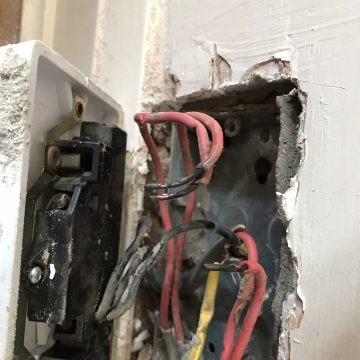 Loose wires causing over heating
