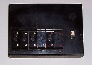 Old rewireable fuse board